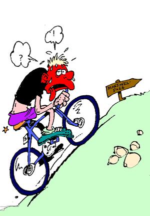 Site conseils alimentation du sportif medecine du sport - Cycliste dessin ...